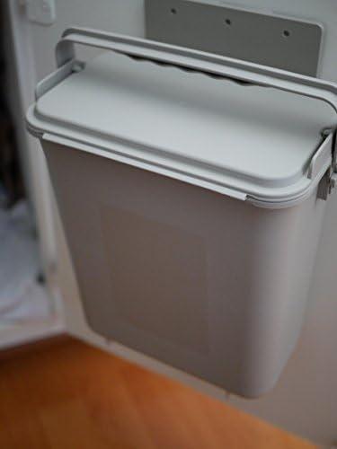 Cero residuos montaje en Kithen Compost Bin – 1,5 l,, Para puerta ...