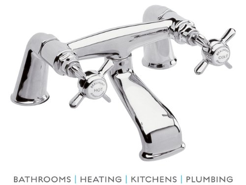 Ultra I328X Beaumont Bath Filler - Chrome