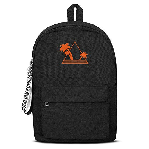 Hawaii Palm Trees4 Laptop Backpack Casual Style Lightweight Canvas Rucksack Travel Hiking for Men Women or Kids