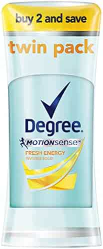 Degree Dry Protection Antiperspirant, Fresh Energy 2.6 Oz (Twin Pack)