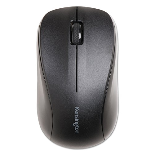 KMW Kensington 72392 Wireless Mouse for Life Left/Right (Kensington Black Mouse Receivers)