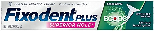 (Fixodent Control Plus Scope Flavor Denture Adhesive Cream-2 oz)