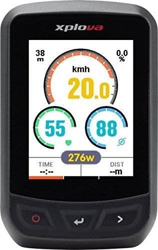 【本体、マウントのみ】Xplova(エクスプローバ) X3/2.2インチ フルカラー液晶 GPSサイクルコンピュータ/フル充電20時間稼働