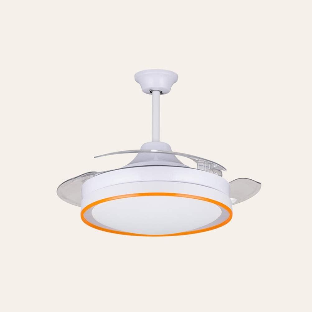 WBOX Ventiladores de Techo Invisibles con lámpara, iluminación ...