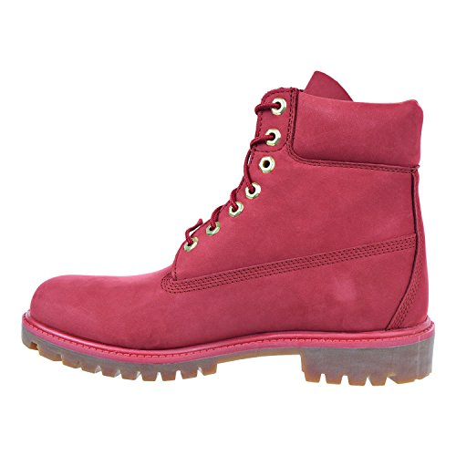 Timberland Mens 6 Premium Monochrome Boot Rosso