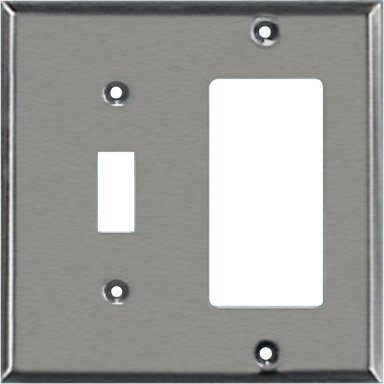 Creative Accents Rocker-Gfci Wall Plate 2 Gang Carded