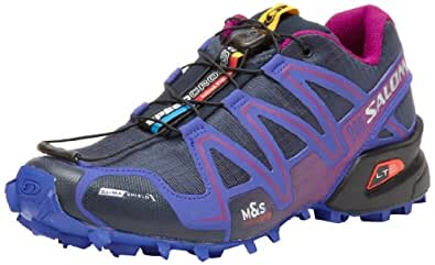 Salomon Women's Speedcross 3 CS W Trail Running Shoe,Deep Blue,9.5 M US