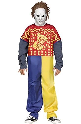Mike Myers Costumes (Young Michael Myers Clown Kids Costume)