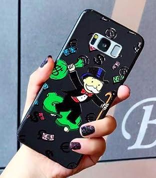 Funda para Samsung Galaxy S10 Monopoly Money Soup Billet Dollars 100 $ Argent USA Negro Carcasa de Moviles Caso Silicón: Amazon.es: Electrónica