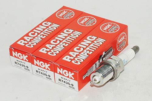NGK レーシング プラグ 品番R7435-9 4896 一体型 3本セット エヌジーケー 日本特殊陶業★3X-2242 B07RD82483