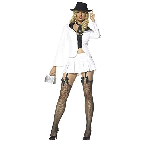 [Sexy Referee - Small/Medium - Dress Size 4-8] (Leg Avenue Womens Referee Costume)