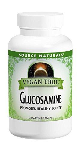 SOURCE NATURALS Vegan True Glucosamine 750 Mg Tablet, 60 Count