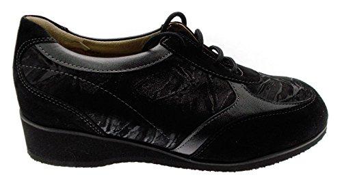 L805a Noirs Extra Large orthopédique Femme Lacets Les Chaussure Article OvdwFF