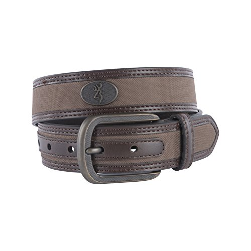 Browning Western Buck Ornament Belt | Brown | 32