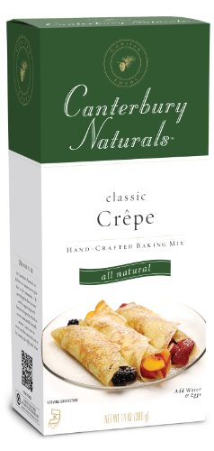 Canterbury Naturals Classic Crepe Mix, 14-Ounce Packages (Pack of 6)