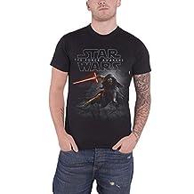 Star Wars 7 Force Awakens Kylo Ren saber Official Mens New Black T Shirt