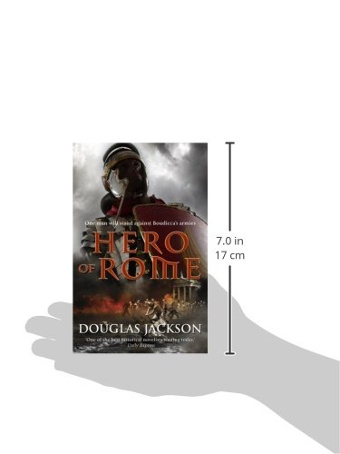 Amazon.com: Hero of Rome (Gaius Valerius Verrens) (9780552162586): Douglas Jackson: Books