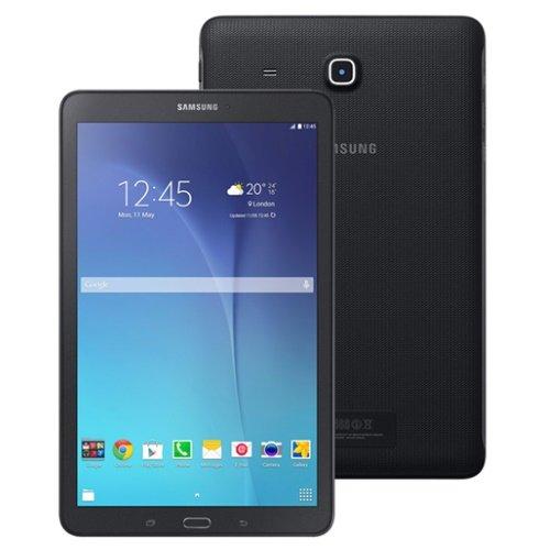 """Samsung Galaxy Tab E SM-T561 8GB Black, 9.6"""", WiFi + 3G, Unlocked International Model, No Warranty"""