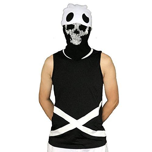 Moniku Team Skull Athletic Vests Neutral Tops