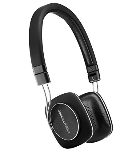 Bowers & Wilkins  P3 Series 2 On-Ear Headphone, Foldable - Black/aluminium