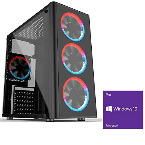 OCHW Metis RGB Ultra Fast Gaming PC Desktop Computer AMD Ryzen 3-3200G 4.0GHz Quad Core ATI Radeon HD Vega 8 Graphics…