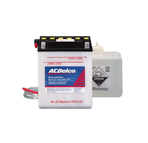 - ACDelco AB14LA2 Specialty Conventional Powersports JIS 14L-A2 Battery