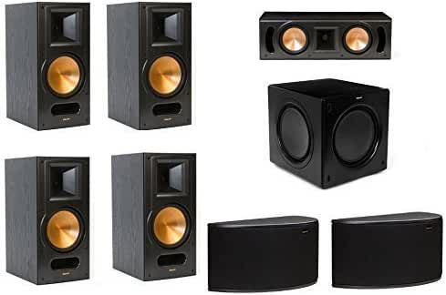 Klipsch RB-81 II 7.1 Surround Speaker Package with RC-52 II Center, R-14S Surround Speakers and SW-311 Subwoofer