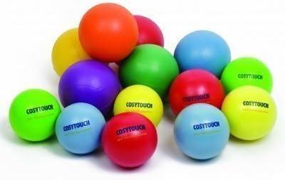 Cosytouch Playballs Para coger & Lanzamiento Hinchable/Desinflar Válvula Bolas Pack De 4 - Multicolor, 180mm: Amazon.es: Deportes y aire libre