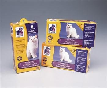 Petmate Boxed Cat Litter Pan Liners 12 Count Large ()