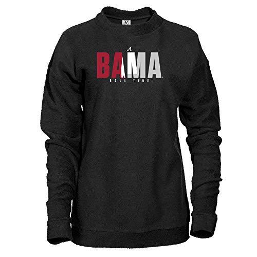 Official NCAA Alabama Crimson Tide 18ALPRD Herrington Fleece Crew Sweatshirt