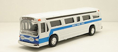 Classic New York City Bus Diecast by Kinsmart