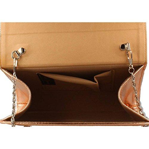 Bolsos Hombro De Marca Modelo Color 01478 Y Metálico Metálico Joni Mujer Para Joni Shoppers Mujer 45qfxn