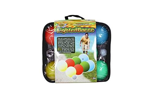Water Sports Lighted Bocce Set by Water Sports