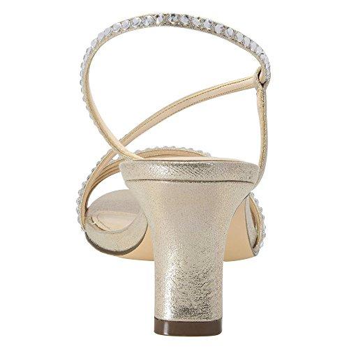 Suede Faux Ls Dress Taupe Gerri Women's Metallic Sandal Nina 0wEC8qx