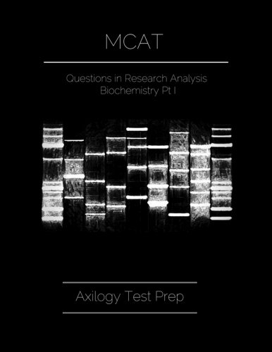 MCAT: Questions in Research Analysis & Biochemistry: Part I