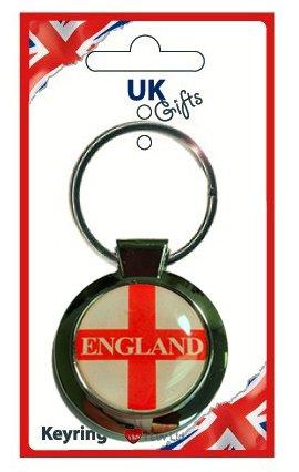 激安先着 England St Round St George Round Keyring B00831V3S6 B00831V3S6, ニジョウマチ:3eff47f0 --- yelica.com