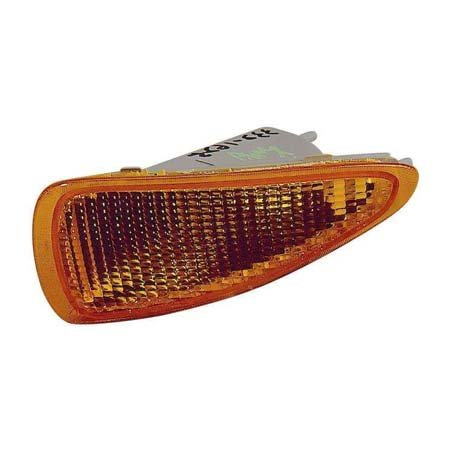 Fits Chevrolet Cavalier Sedan 1995-1999/Coupe Base,RS Model 1995-1999/Convertible 1995-1997 Parking Signal Light Unit Passenger Side w/o Z24 (CAPA Certified) GM2521139C