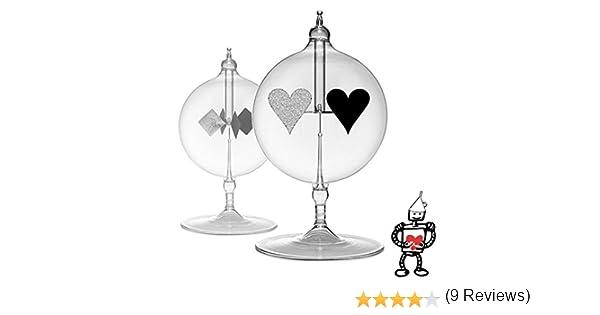 Radiómetro Solar Spinning Tin-Man Corazón – Powered by The Sun ...