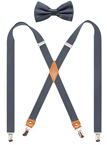 Timiot Suspender Bowtie Adjustable Elastic product image