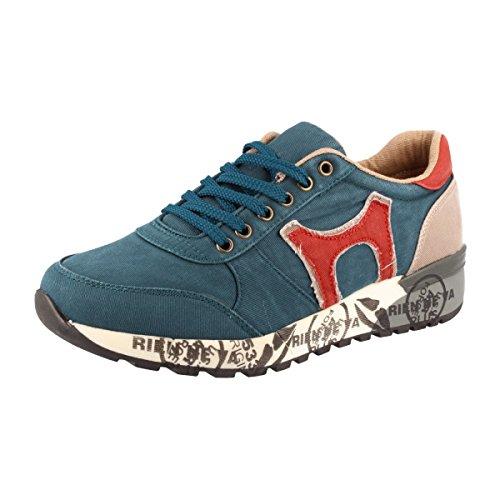SØDERBERGH Sportschuh, Sneaker Schnürschuh Halbschuh, Unisex, Farbe:Indigo;Schuhgröße:40