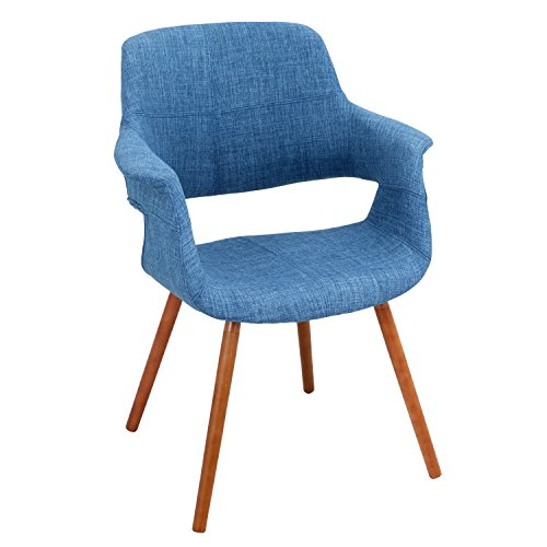 Cheap WOYBR CHR-JY-VFL BU Bent Wood, Woven Fabric, Vintage Flair Chair