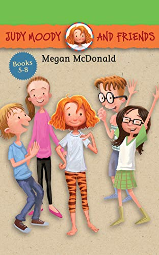 Judy Moody and Friends Collection 2: Stink Moody in Master of Disaster, Triple Pet Trouble, Mrs. Moody in the Birthday Jinx, April Fools', Mr. Todd! -  Megan McDonald, Teacher's Edition, Audio CD