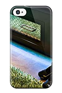 Iphone 4/4s Hard Case With Awesome Look Cork Flooring For A Baseball-themed Bedroom