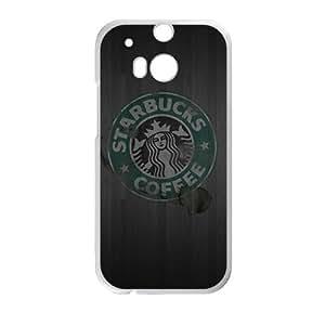 DAZHAHUI Starbucks design fashion cell phone case for HTC One M8