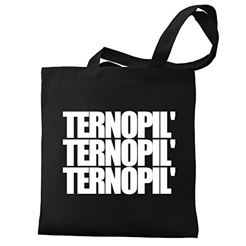 Eddany Eddany three Tote Bag Ternopil' Ternopil' Canvas words pprSq5