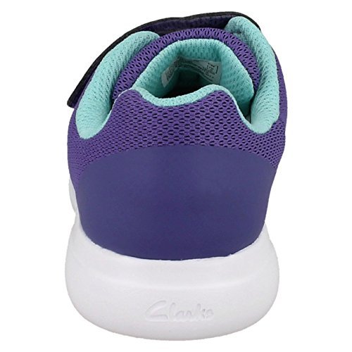Viola Scarpe Sprint Clarks Stringate Purple Inf Donna Zone wYxpx