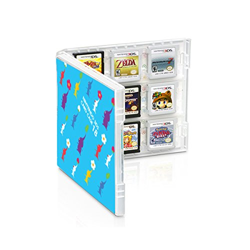 Club Nintendo 3ds Game Card Case - Pikmin / Super Mario Bros