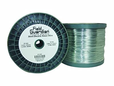 Field Guardian 14-Guage Galvanized Steel Wire, 1/2 Miles
