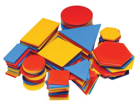 (School Smart Attribute Block, Set of 120 Pieces)