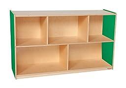 Wood Designs WD13000G Green Apple Single Storage, 30\